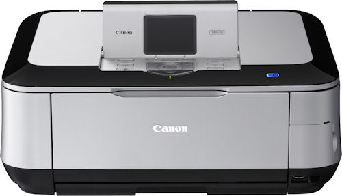 Canon's PIXMA MP640 inkjet printer. Photo provided by Canon USA Inc. Click for a bigger picture!