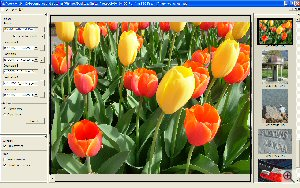 Pixort's user interface. Copyright © 2003, The Imaging Resource. All rights reserved.