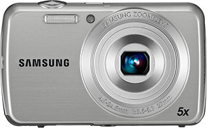 Samsung's PL20 digital camera. Photo provided by Samsung Electronics Co. Ltd. Click for a bigger picture!