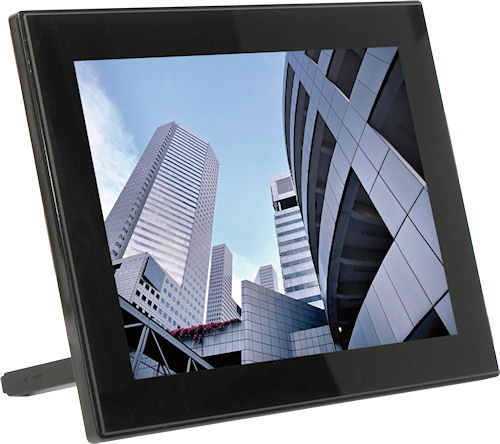 JOBO's PLANO 10 Gestic multimedia digital picture frame. Photo provided by JOBO AG. Click for a bigger picture!
