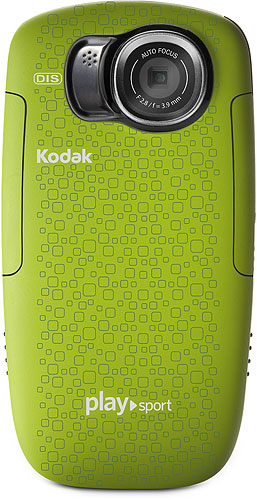 The Kodak Playsport video camera. Rendering provided by Eastman Kodak Co. Click for a bigger picture!