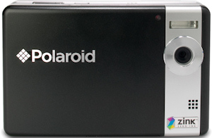 Polaroid PoGo Instant Digital Camera. Photo provided by ZINK Imaging Inc. Click for a bigger picture!
