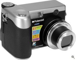 The Polaroid x530 digital camera. Courtesy of Foveon / World Wide Licenses, with modifications by Michael R. Tomkins. Click for a bigger picture!