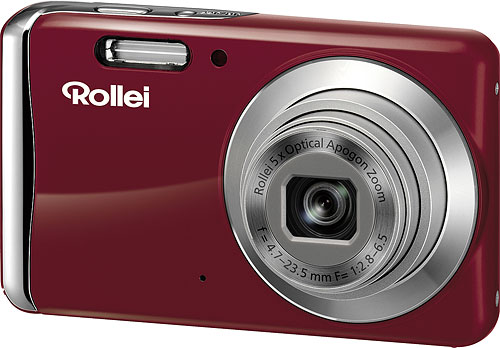 Rollei's Powerflex 455 digital camera. Photo provided by RCP-Technik GmbH & Co. KG. Click for a bigger picture!