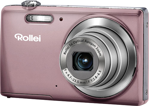 Rollei's Powerflex 460 digital camera. Photo provided by RCP-Technik GmbH & Co. KG. Click for a bigger picture!