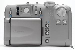 Canon's PowerShot G2 digital camera. Copyright © 2001, The Imaging Resource. All rights reserved. Click for a bigger picture!