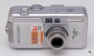 Canon's PowerShot S30 digital camera. Copyright © 2001, The Imaging Resource. All rights reserved. Click for a bigger picture!