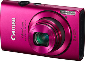 Canon's PowerShot ELPH 310 HS digital camera. Image provided by Canon USA Inc. Click for a bigger picture!