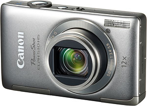 Canon's PowerShot ELPH 510 HS digital camera. Image provided by Canon USA Inc. Click for a bigger picture!