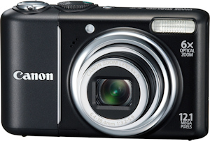 Canon's PowerShot A2100 IS. Photo provided by Canon USA Inc. Click for a bigger picture!