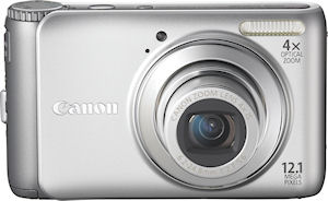 Canon's PowerShot A3000 digital camera. Photo provided by Canon. Click for a bigger picture!
