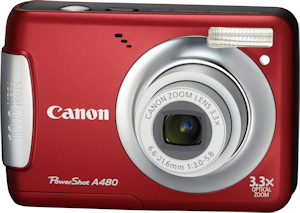 Canon's PowerShot A480. Photo provided by Canon USA Inc. Click for a bigger picture!