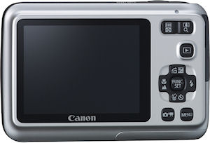 Canon's PowerShot A495 digital camera. Photo provided by Canon. Click for a bigger picture!