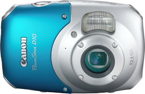 Canon's PowerShot D10. Photo provided by Canon USA Inc. Click for a bigger picture!