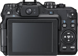 Canon's PowerShot G12 digital camera. Photo provided by Canon USA Inc. Click for a bigger picture!