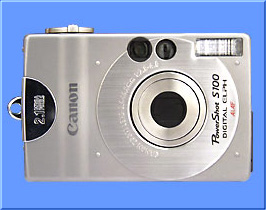 Canon PowerShot S100 DIGITAL ELPH digital camera