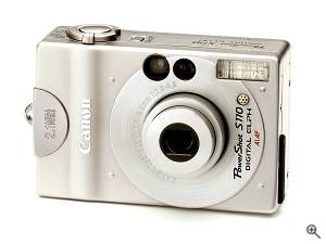 Canon's Powershot S110 digital camera, front  left quarter view. Courtesy of Canon. Click for a bigger picture!