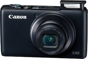 Canon's PowerShot S95 digital camera. Photo provided by Canon USA Inc. Click for a bigger picture!