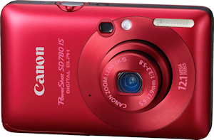 Canon's PowerShot SD780 IS. Photo provided by Canon USA Inc. Click for a bigger picture!