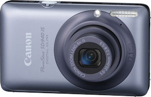 Canon's PowerShot SD940 IS digital camera. Photo provided by Canon USA Inc. Click for a bigger picture!