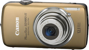 Canon's PowerShot SD980 IS digital camera. Photo provided by Canon USA Inc. Click for a bigger picture!