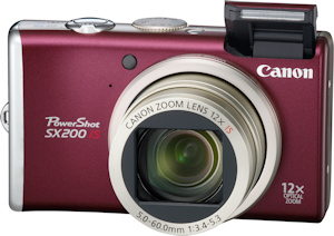Canon's PowerShot SX200 IS. Photo provided by Canon USA Inc. Click for a bigger picture!