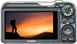 Canon's PowerShot SX220 HS digital camera. Photo provided by Canon Europe Ltd. Click for a bigger picture!