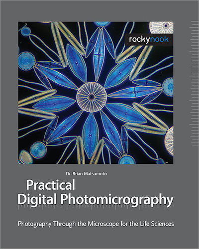 Practical Digital Photomicrography: Photography Through the Microscope for the Life Sciences, by Dr. Brian Matsumoto. Photo provided by O'Reilly Media. Click for a bigger picture!