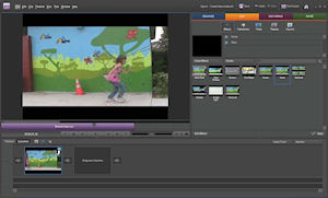 Adobe Premiere Elements 8. Screenshot provided by Adobe Systems Inc. Click for a bigger picture!
