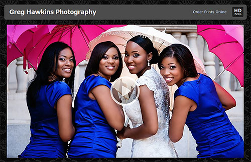 Send clients unbranded links to view their video slideshows online. Photo and caption provided by Photodex Corp. Click for a bigger picture!