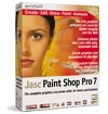 Jasc's Paint Shop Pro 7.0 packaging. Courtesy of Jasc Software Inc.