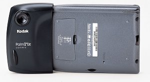 Kodak PalmPix with 3COM Palm IIIx - click for a bigger picture!