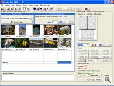 Qimage Pro 2003's interface. Image copyright © 2002, The Imaging Resource.  All rights reserved. Click for a bigger picture!
