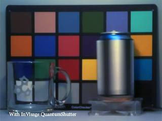 Video frame captured using InVisage's QuantumShutter technology. Photo provided by InVisage Technologies Inc.