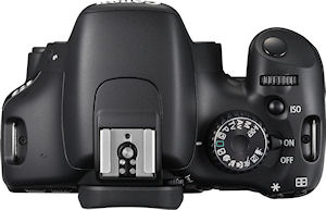Canon's EOS Rebel T2i, known in some markets as the EOS 550D. Photo provided by Canon. Click for a bigger picture!