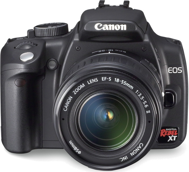 NEWS! - Canon announces EOS Digital Rebel XT