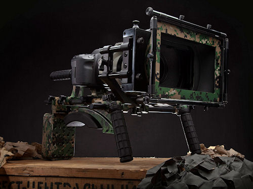 The Redrock|Ops DSLR Field Cinema Deluxe Bundle V2. Photo provided by Redrock Micro. Click for a bigger picture!