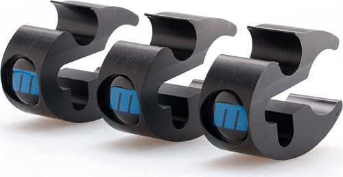 Redrock's microTies are sold in packs of three. Photo provided by Redrock Micro. Click for a bigger picture!