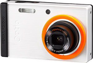 Pentax's Optio RS1500 digital camera. Photo provided by Pentax Imaging Co. Click for a bigger picture!