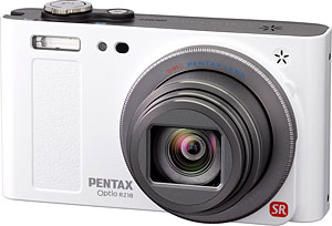 Pentax's Optio RZ18 digital camera. Photo provided by Pentax Imaging Co. Click for a bigger picture!