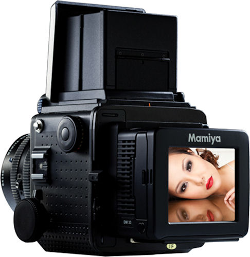 The Mamiya RZ33 large-sensor digital camera kit. Photo provided by MAC Group. Click for a bigger picture!