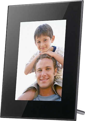 Sony's S-Frame DPF-X85 digital picture frame. Photo provided by Sony Europe (Belgium) N.V. Click for a bigger picture!