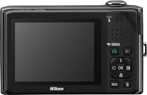 Nikon's Coolpix S1000pj digital camera. Photo provided by Nikon Inc. Click for a bigger picture!