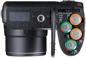 Fujifilm's FinePix S1500fd digital camera. Photo provided by Fujifilm USA Inc. Click for a bigger picture!
