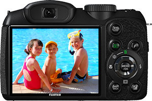 Fujifilm's FinePix S1800 digital camera. Photo provided by Fujifilm North America Corp. Click for a bigger picture!
