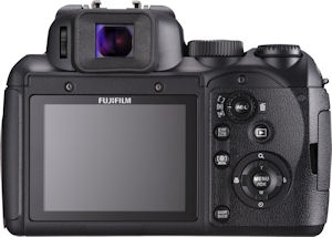 Fujifilm's FinePix S200EXR digital camera. Photo provided by Fujifilm USA Inc. Click for a bigger picture!