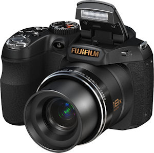 Fujifilm's FinePix S2800HD digital camera. Photo provided by Fujifilm North America Corp. Click for a bigger picture!