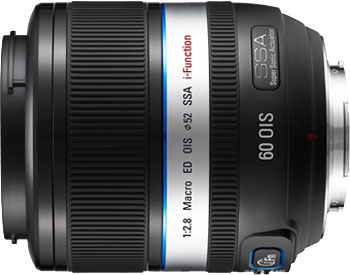 The Samsung 60mm F2.8 Macro ED OIS SSA NX lens. Photo provided by Samsung Electronics Co., Ltd.