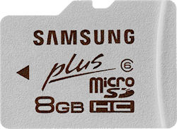 Samsung's 8GB MicroSDHC Plus card. Photo provided by Samsung Electronics Co. Ltd. Click for a bigger picture!
