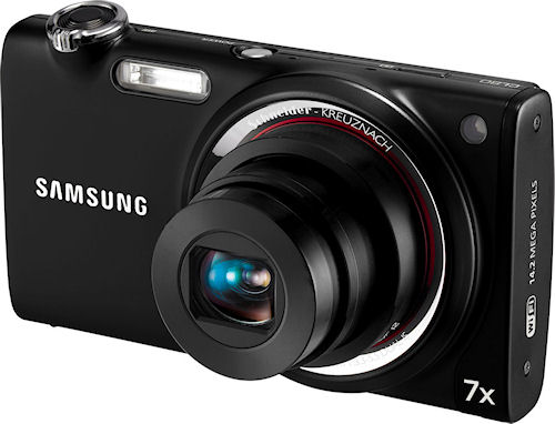 Samsung's CL80 digital camera, known in some markets as the ST5500. Photo provided by Samsung Electronics America Inc. Click for a bigger picture!